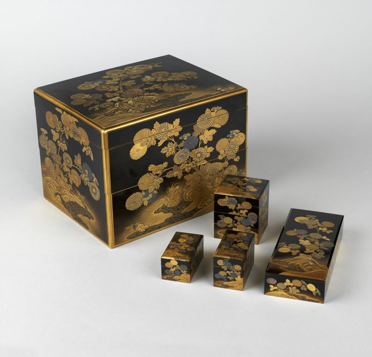Japanese Lacquer box. 1825
