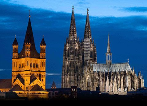 The Dom Cathedral, Cologne, Germany day 6