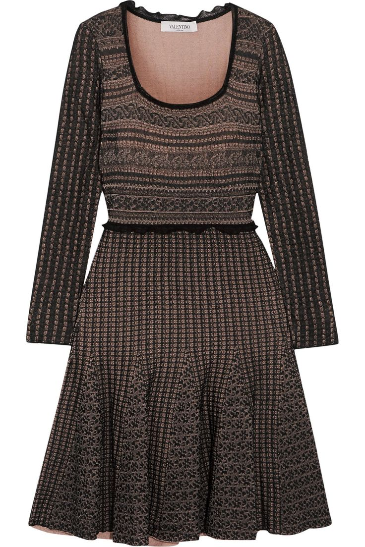 Wool-blend dress   VALENTINO   Sale up to 70% off   THE OUTNET