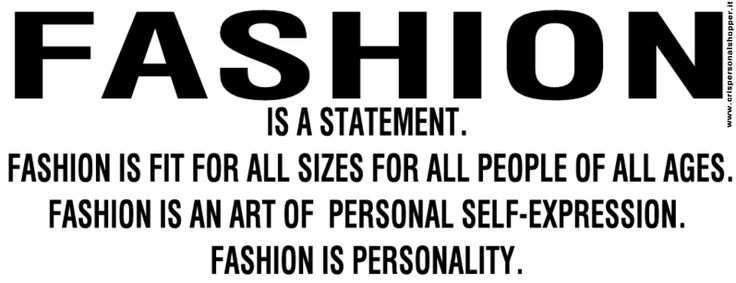 Personality…