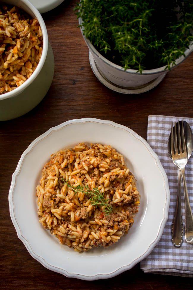 Γιουβετσάκι με κιμά - Myblissfood.grMyblissfood.gr
