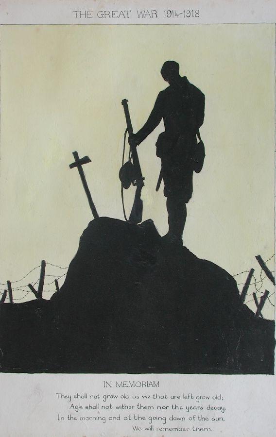 Art: Detail   David Cohen Fine Art - Art of the First World War - 1914-1918