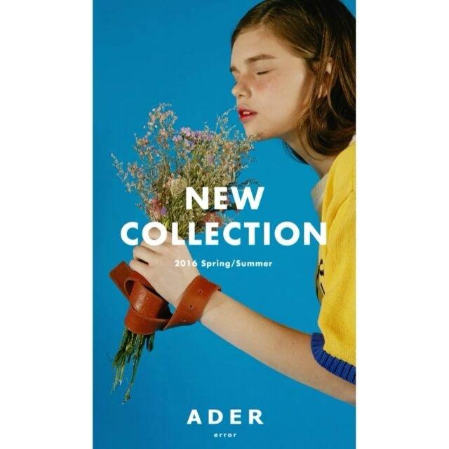 New collection open! Ader color chip! #ader #adererror#order#starts