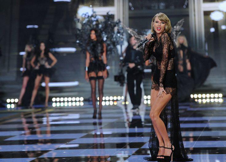 FOTOS: Taylor Swift, Ariana Grande, Hozier, Ed Sheeran Execute no 2014 da Victoria Secret Fashion Show | Myspace