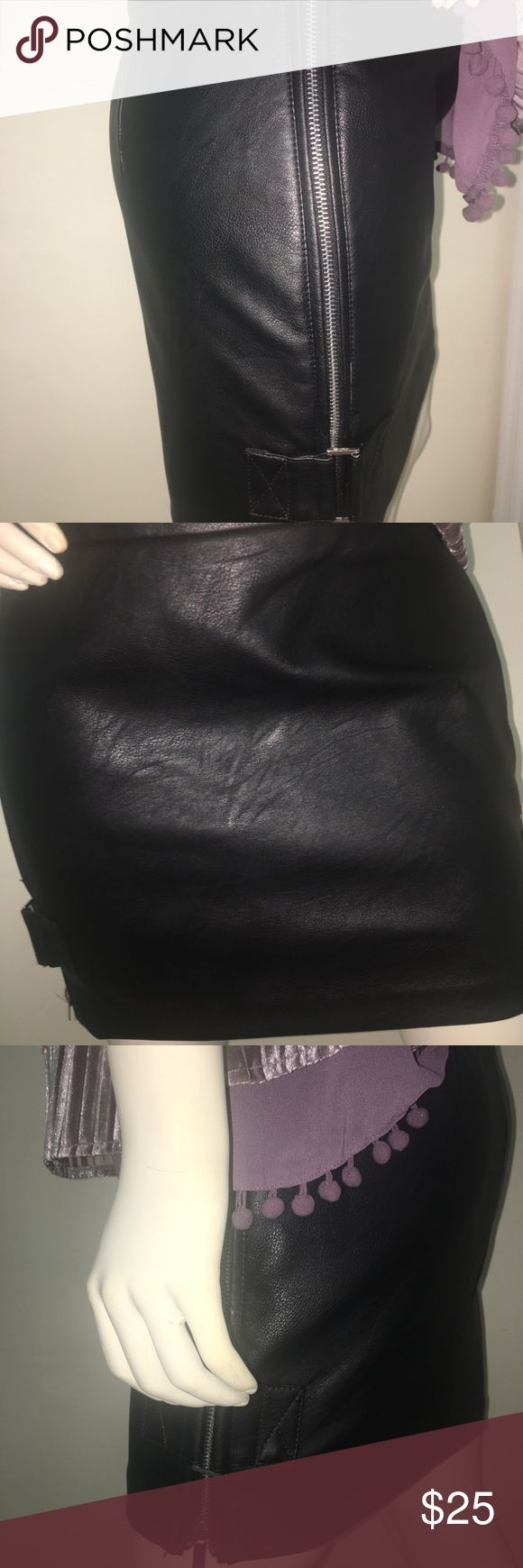 Short skirt -artificial leather, Short skirt -artificial leather, Reserved Skirts Mini