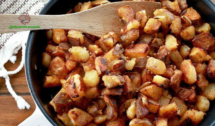 Вы с лёгкостью приготовите жареный картофель до хрустящей золотистой корочки, которую так многие любят!