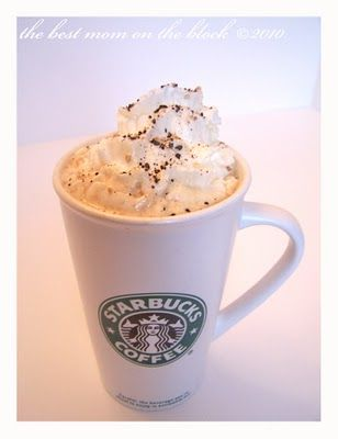 Pumpkin Spice Latte recipe, made with a Tassimo - this is genius can't wait to try it