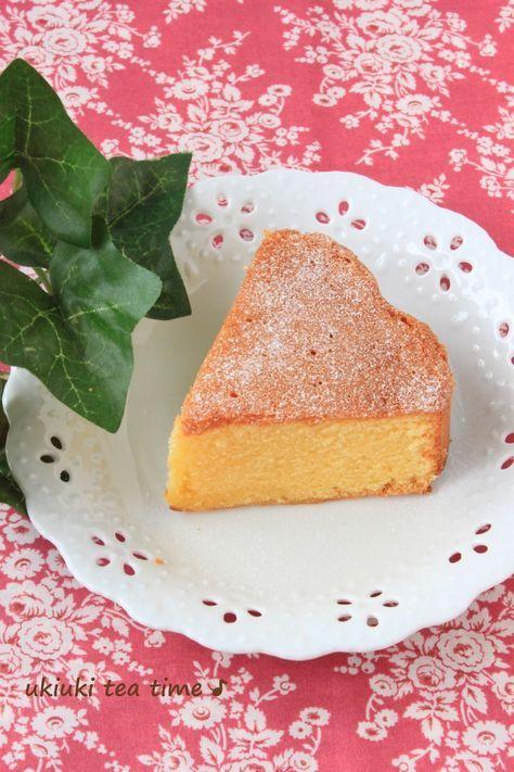 小麦粉不使用★しっとりアーモンドケーキ きめ細かくて美味しいパン・ド・ジェーヌ風 材料 (18センチ型) アーモンドプードル 120g コーンスターチ 50g グラニュー糖(砂糖でも) 140g 卵 3個 バター 80g