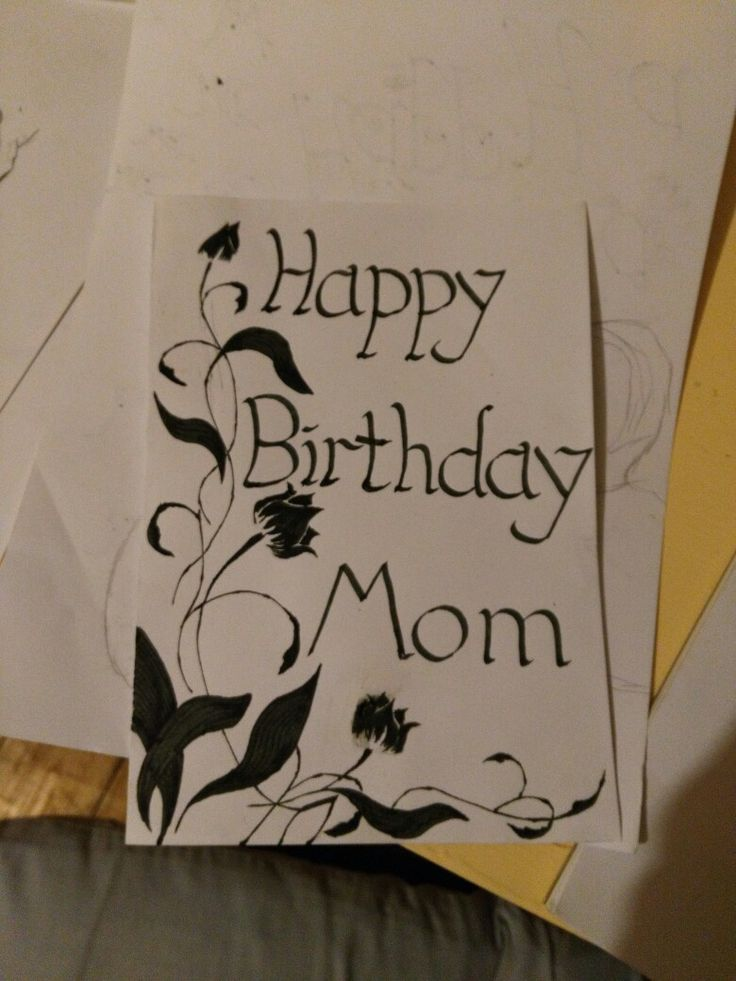 Calligraphy card