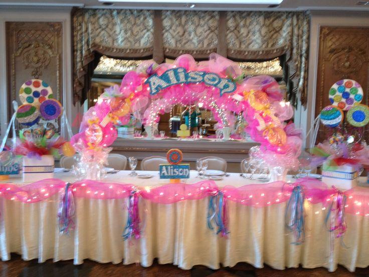 Sweetsixteen Decorations Candy Land Sweet 16