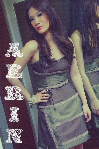 "Mariane Perez ""Aerin"" dress | Strapless dress with pleat detail | Model: Nichole Mercado | Photographer: Mark Perez  #marianeperez #fashion #cocktaildress #eveningwear"