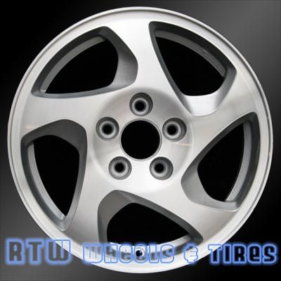 "Honda Prelude wheels for sale 1997-2001. 16"" Silver rims 63978 - http://www.rtwwheels.com/store/shop/honda-prelude-wheels-for-sale-silver-63978/"