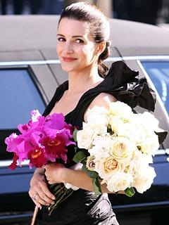 Lovely Charlotte (Kristin Davis) - as a bridesmaid in Sex & The City movie #1 (2008)