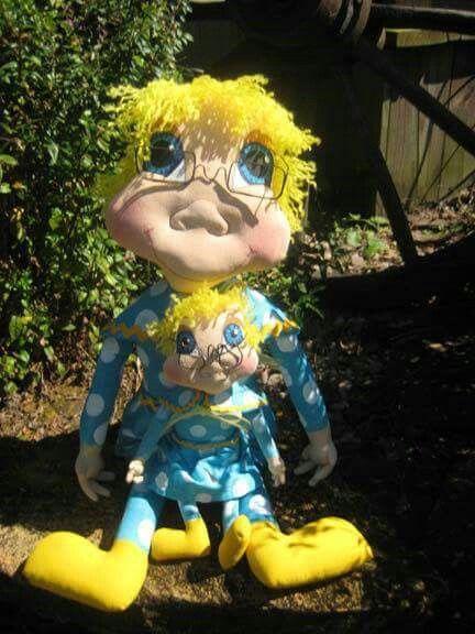 Ms Beasley doll by I'm seeing raggedies