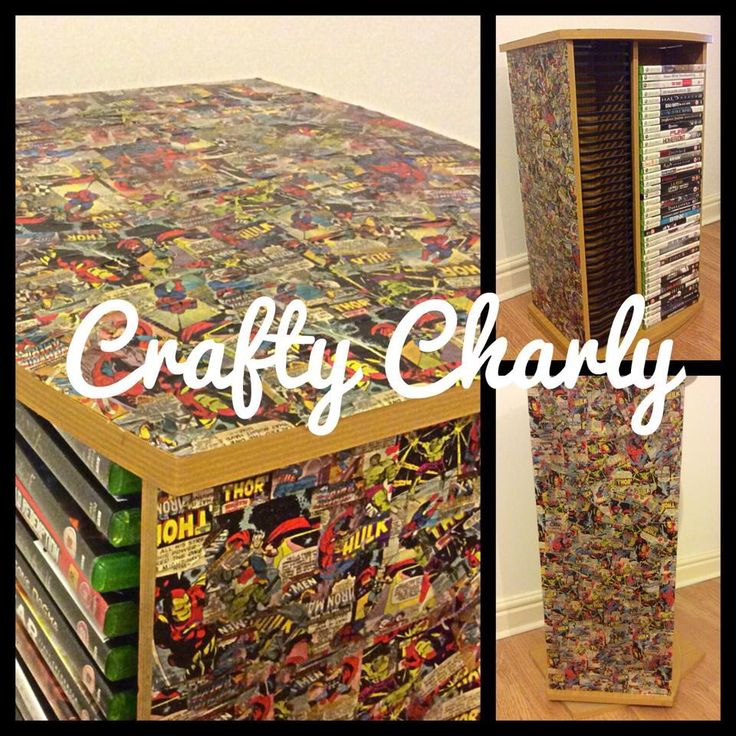 An upcycled turning CD/DVD rack :) #craftycharly #decoden #encrusted #barnsley #madeinyorkshire
