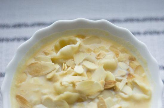 jadłonomia · roślinne przepisy: Migdałowa zupa z dyni