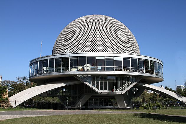 "Buenos Aires Planetarium, ""Galileo Galilei"", 1966, Architecht: Enrique Jan"