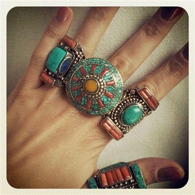 Etno boho rings
