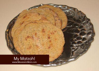 Matzah Recipe - Passover/ Feast of Unleavened Bread