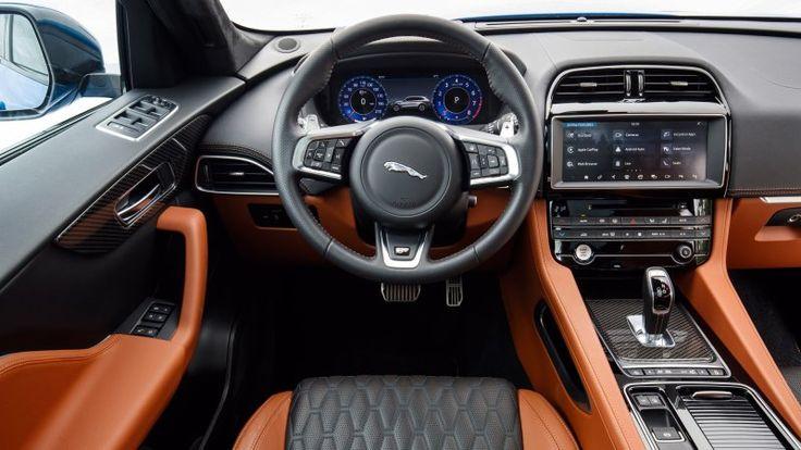 2020 Jaguar F Pace Svr First Drive Review Jaguar F Pace