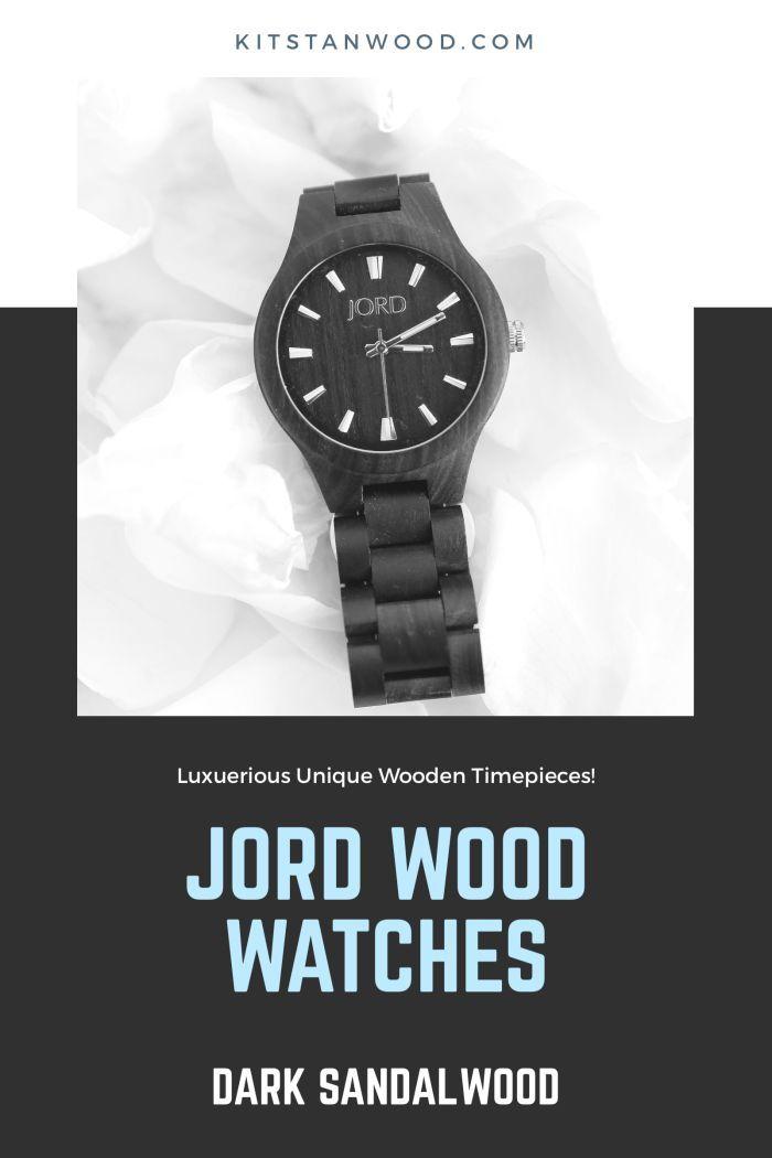 JORD Wood Watches Series Dark Sandalwood