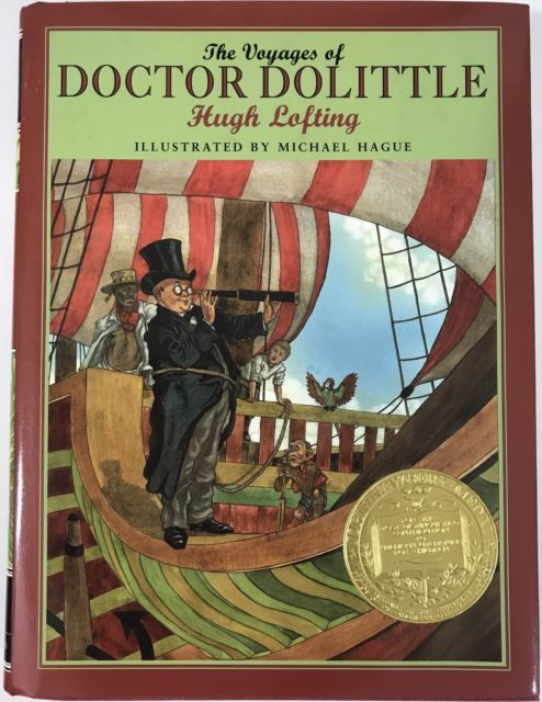 The Voyages of Doctor Dolittle by Hugh Lofting 2001 Hardcover Michael Hague | eBay | Children's