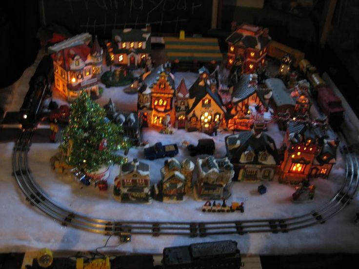 1000 Images About Ho Scale Christmas Village On Pinterest