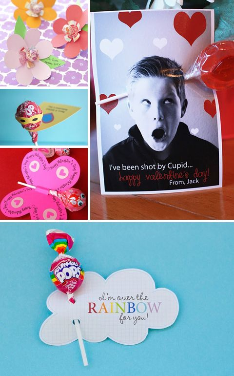 Supposed to be about DIY Valentines stuff, but pinning because it's got nice ideas for gift tags, cards, things for the kids on xmas morning or birthdays