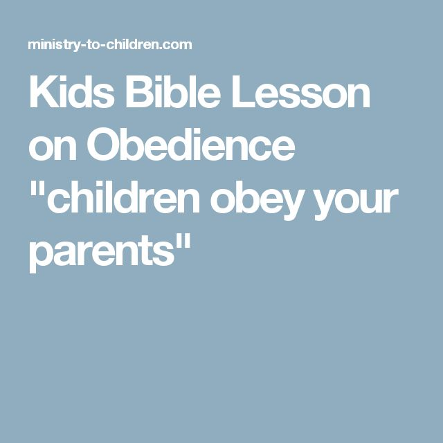 Ephesians 6 - NIV Bible - Children, obey your parents in ...