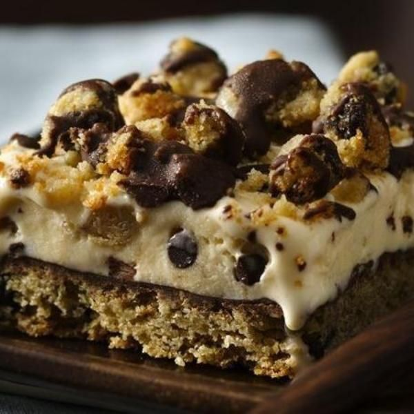 ... gluten-free homemade ice cream cake made easily with a cookie mix