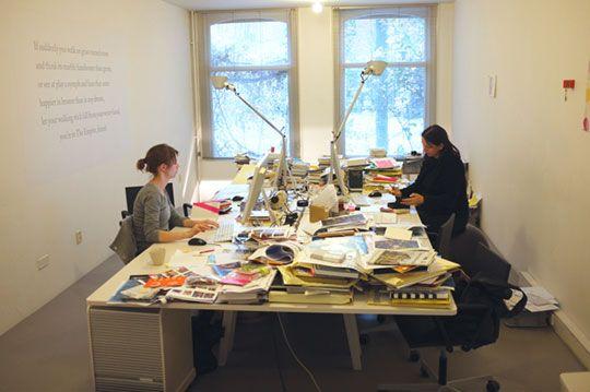 Interview met Irma Boom over haar design proces.