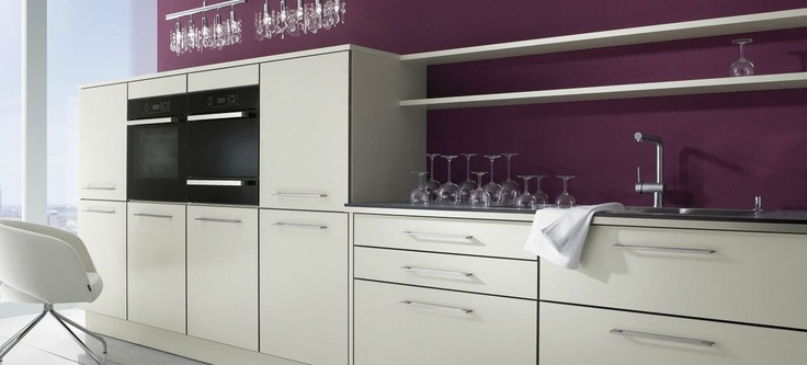 De paarse keuken: hip en trendy!