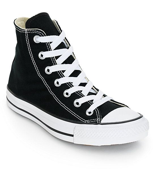 Black Converse High Tops – Ready for