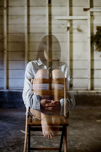 double exposure - J. Kim by James Fitzgerald III, via Flickr