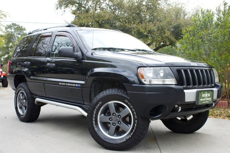 2004 grand cherokee laredo freedom edition silver front fascia accent tubular side rails. Black Bedroom Furniture Sets. Home Design Ideas