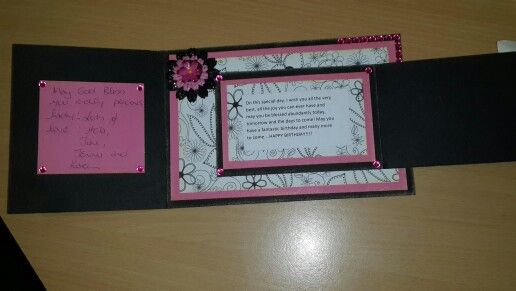 Folding card