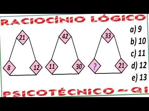 Qual número completa logicamente a sequenciação? Encontre o número que falta na seriação? Raciocínio Lógico com imagens e numeração. Série de desenhos numéricos sequenciais. Teste de Atenção Concentrada (TAC).   a) 9 b) 10 c) 11 d) 12 e) 13  YouTube