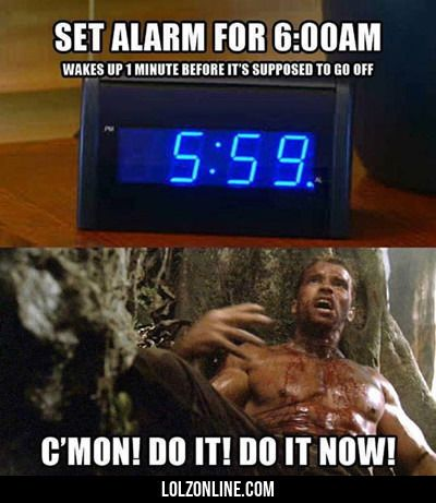 Set Alarm For 6 A.m....#funny #lol #lolzonline