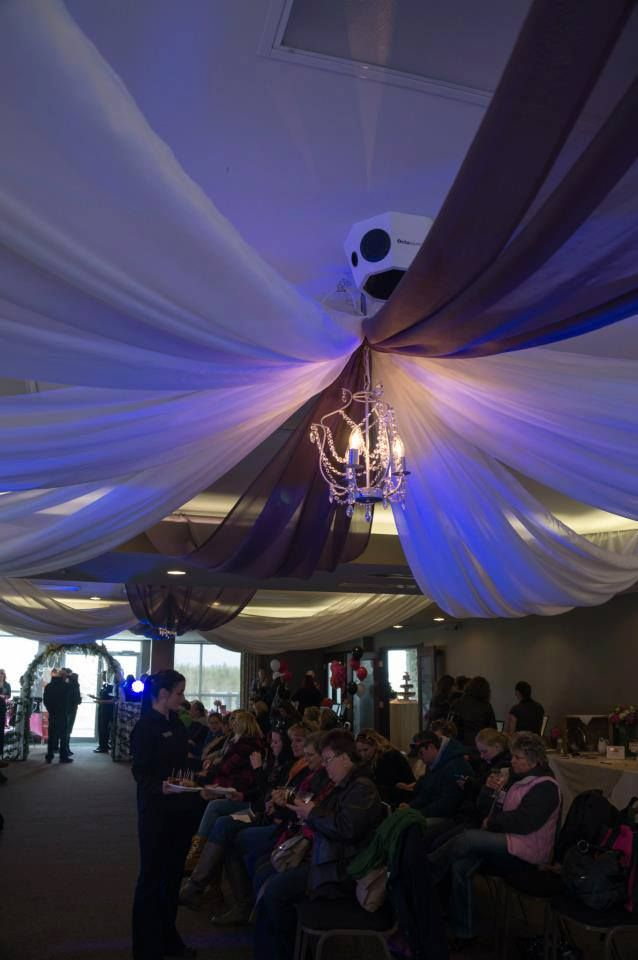 Great food and fashion show...what else do you need!