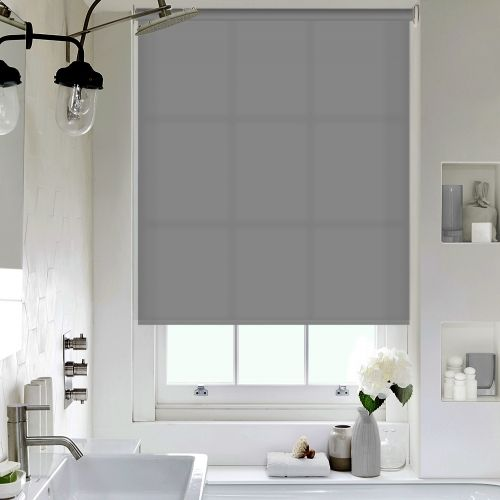 Seaton Light Grey Roller blinds