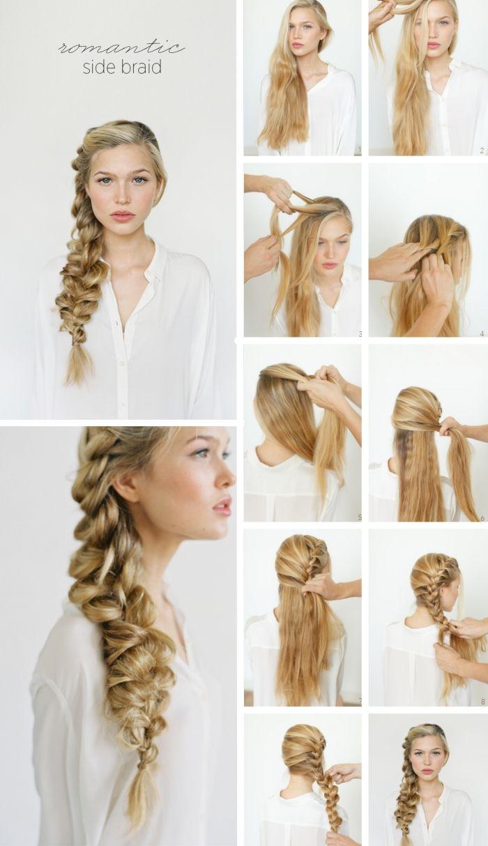 Quelle Coiffure Facile Cheveux Long Vous Va Et Comment La Realiser 67 Idees Archzine Fr Coiffure Coiffure Cheveux Long Facile Idees Cheveux Longs