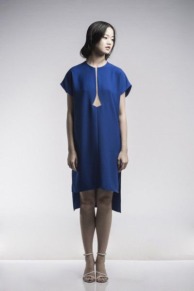 Peggy Hartanto Nephrite Dress in Cobalt Blue | nana & bird - Only Curating What We Love