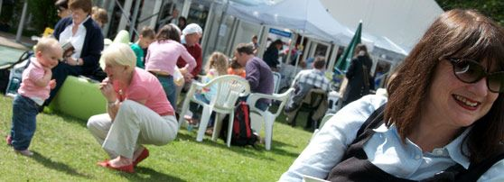 Visiting the festival   Edinburgh International Book Festival