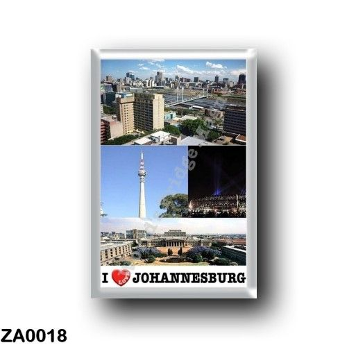 ZA0018 Africa - South Africa - Johannesburg - I Love