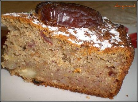 Biscuit aux dattes Medjoul, amandes et bananes, sans sucre , sans oeufs ou comment faire le plein de magnésium - CAHIER GOURMAND