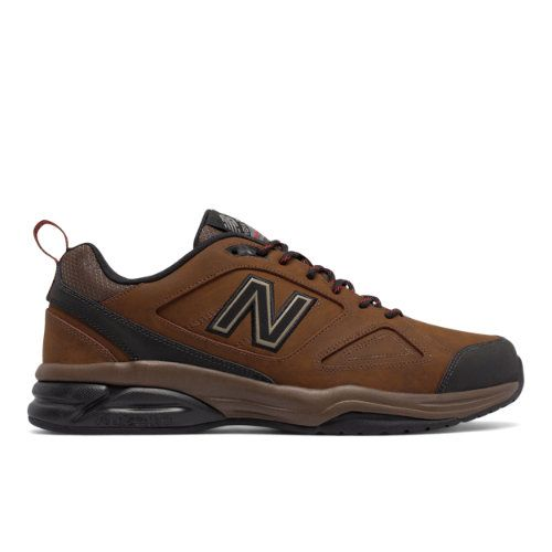 New Balance 623v3 Trainer Leather Men's Everyday Trainers Shoes - Brown (MX623LT3)