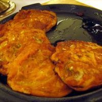 Kimchi Jeon (Kimchi Pancakes) with Vinegar/Soy Dipping Sauce by Brad ...