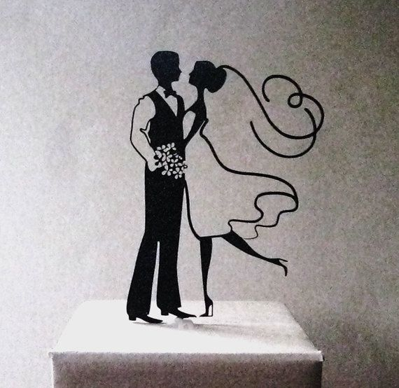 Wedding Cake Topper  Wedding von Plasticsmith auf Etsy, $25.00