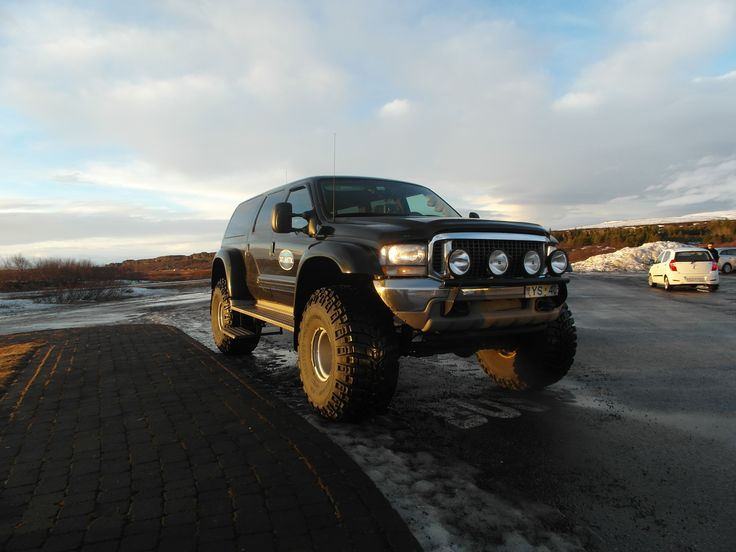 They have amazing super jeeps in Iceland!