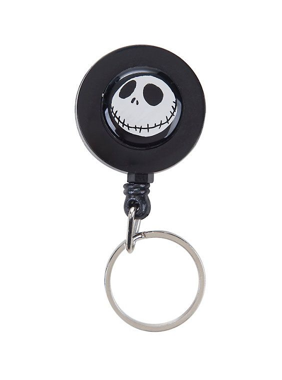 The Nightmare Before Christmas Jack Retractable Key Chain,